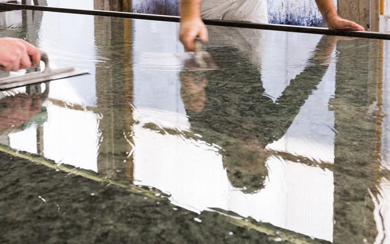 Resinatura Lastre Marmo e Granito